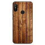 PURE COLOR Carcasa para Xiaomi A2 Lite/Redmi 6 Pro Serie Woods