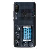 PURE COLOR Carcasa para Xiaomi A2 Lite/Redmi 6 Pro Serie Eletronic