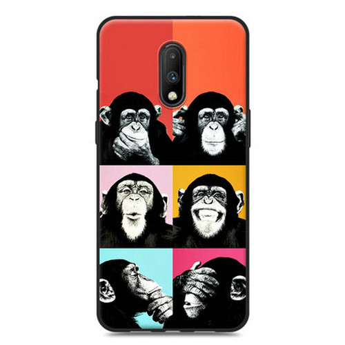 PURE COLOR Carcasa para OnePlus 7 Serie Love