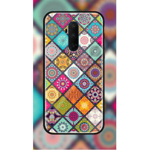 Nillkin Carcasa para Oneplus 7T Pro Serie Floral Designs