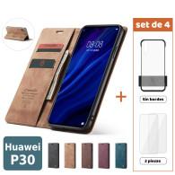 Fundas para Huawei P30 (Set de 4) 2 Fundas + 2 Micas