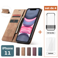 Fundas para iPhone 11 (Set de 4) 2 Fundas + 2 Micas