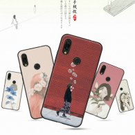PURE COLOR Carcasa para Xiaomi Redmi 7 Serie Girls