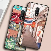 PURE COLOR Carcasa para OnePlus 7 Serie Girls