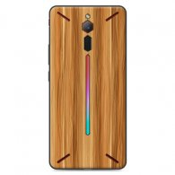 PURE COLOR Carcasa para Nubia Red Magic Mars Serie Woods
