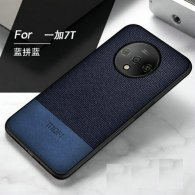 Mofi Carcasa para Oneplus 7T Serie Cloth Craft