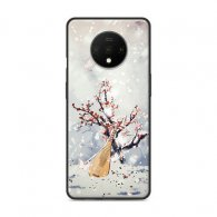 PURE COLOR Carcasa para Oneplus 7T Serie Antiquity
