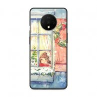 PURE COLOR Carcasa para Oneplus 7T Serie Girls