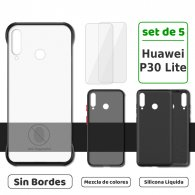 Fundas para iPhone 7 / 8 (Set de 5) 3 Fundas + 2 Micas