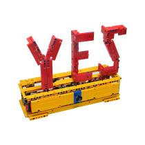 MOC-2805-Yes / No Sculpture