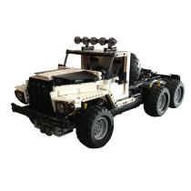 MOC-24308 6x6 White Truck - RC
