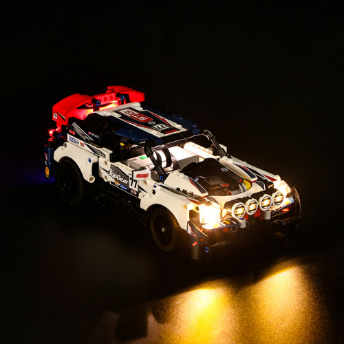 App-Controlled Top Gear Rally Car # 42109
