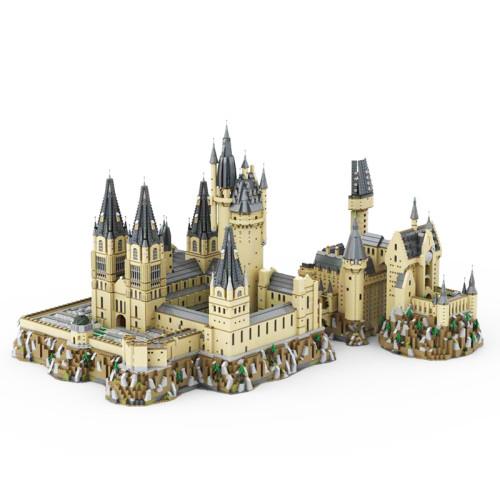 MOC-30884 Hogwart's Castle (71043) Epic Extension