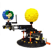 Earth, Moon and Sun Orrery MOC-4477