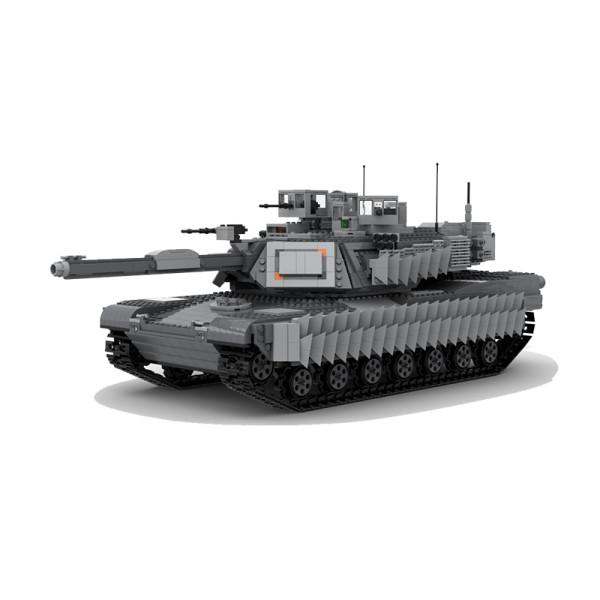 Ultimate M1A2 Abrams Tank MOC-38891