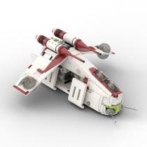 MOC-35919 Republic Gunship based set 75021