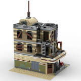 MOC-40173 Downtown Diner - Apocalypse Version