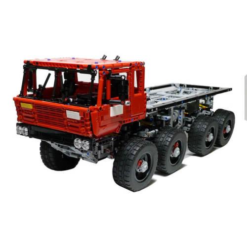 MOC-1963 Tatra 813 Trial Truck