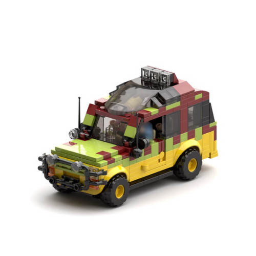 MOC-25912 Jurassic Park Tour Vehicle (Ford Explorer)