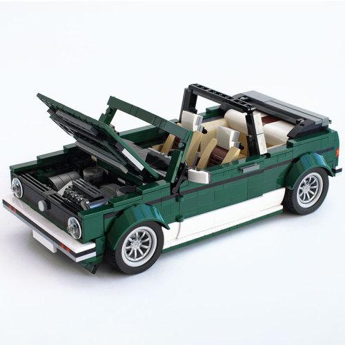 MOC-26778 10242 VW Golf MK1 Cabriolet