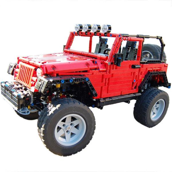 MOC-30015 Jeep Wrangler Rubicon (Manual Version)