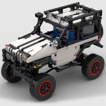 MOC-24142 4x4 Trophy Jeep RC