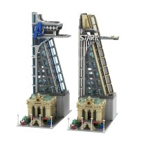 MOC-39673 Modular Avengers and Stark Tower