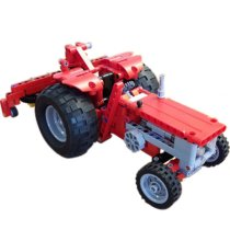 MOC-7304 851-1 Red Tractor 40 Years Anniversery Edition