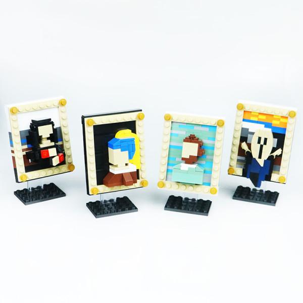 World famous painting mini version