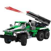 MOC-2158 6x6 Truck-Rocket Launcher BM-21