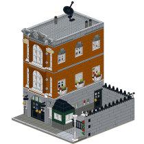 MOC-0201 Consulate-Town Hall Alternative-Modular Building