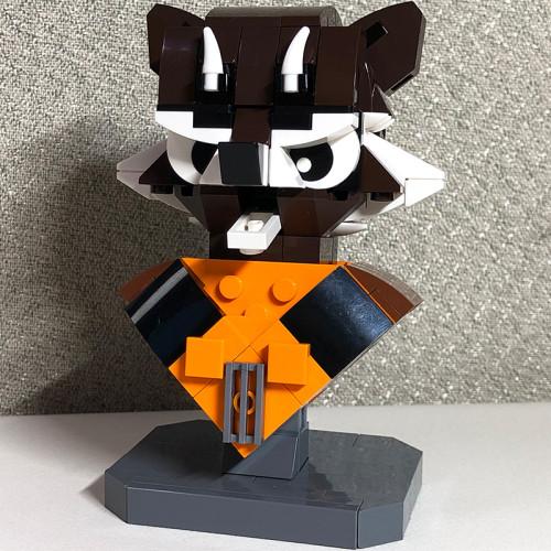 MOC-13297 Custom Rocket Raccoon Bust