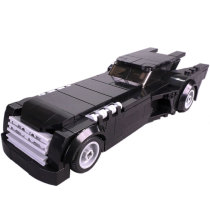 MOC-15632 The Animated Series Batmobile-Minifig Scale (1992-1995)