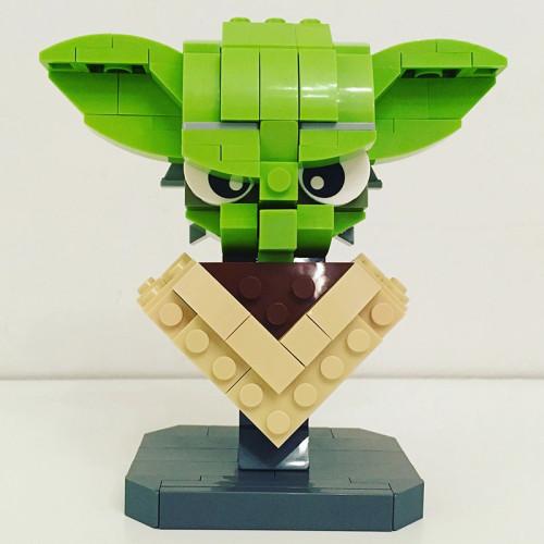 MOC-12874 Custom Yoda Bust