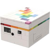MOC-43057 Rainbow Road (a puzzle box)