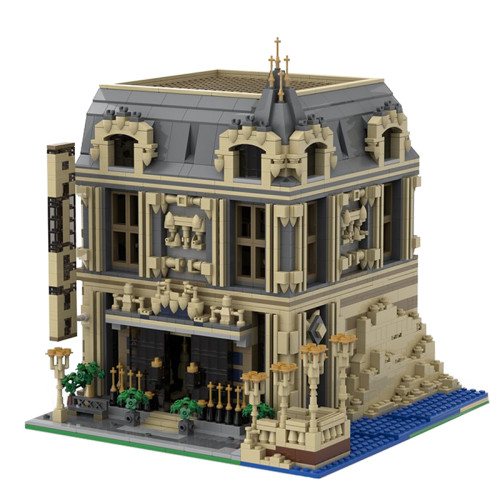 The Lounge (10253 Big Ben Alternate Model Modular) MOC-14123