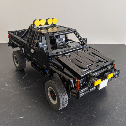 MOC-43124 Toyota SR5 xtra cab 4x4 pickup truck-Back to the future