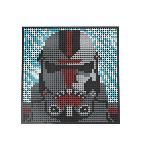 MOC-47595 LEGO Art Mosaic - Hunter