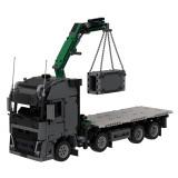 MOC-34643 Volvo crane truck