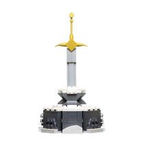 MOC-15120 Custom LEGO Sword in the Stone