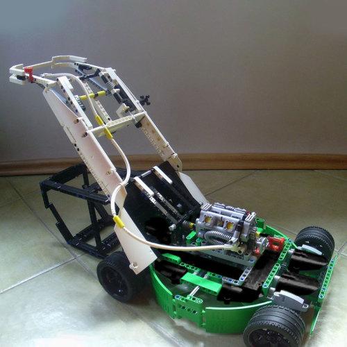 MOC-4867 lawn mower (42039 C-MODEL)