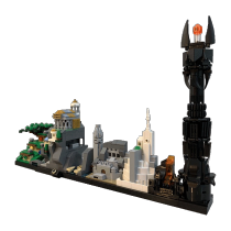 MOC-20513 THE L0RD OF THE RINGS Skyline Architecture