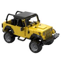 MOC-26875 1995 Jeep Wrangler in yellow