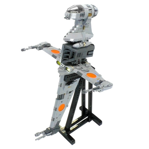 MOC-18137 B-wing Starfighter - Minifig Scale