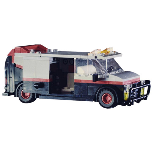 MOC-11246 A-Team GMC Vandura Van