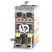 MOC-42895 Modular Comic Shop + Apartment