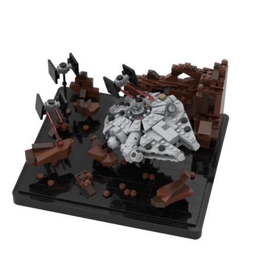 MOC-41087 Asteroid Chase - Micro Millenn ium Falcon - Episode V