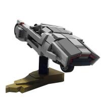 MOC-10905 K's Spinner from Blade Runner 2049