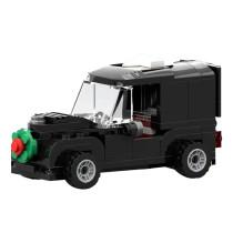 MOC-17019 Winter Village - Classic Car