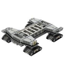 Crawler-transporter for NASA Saturn